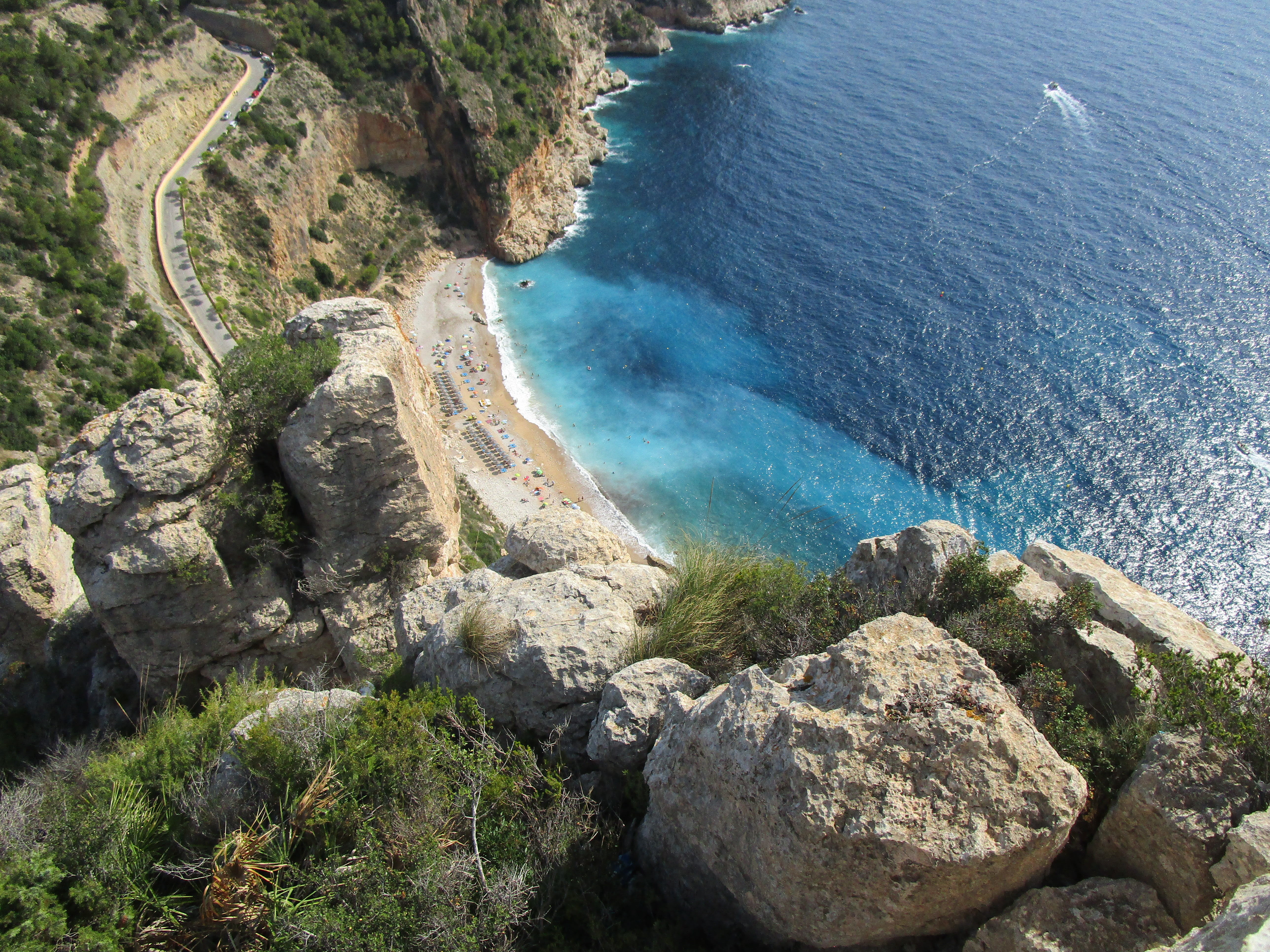 Calla Moraig – La plage de la Cumbre
