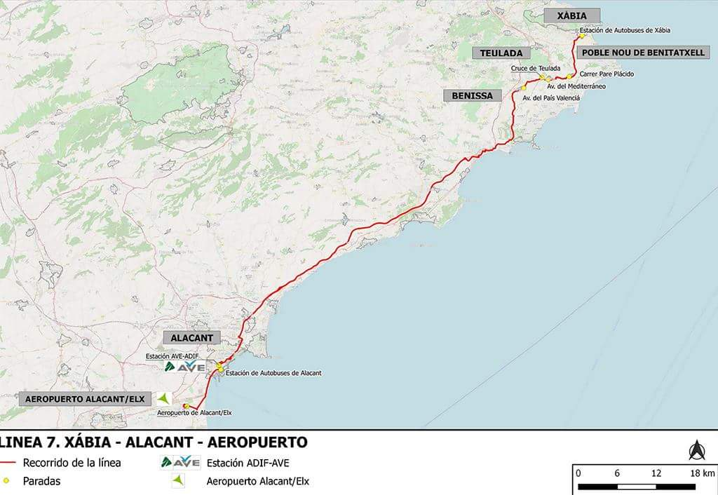 Jonction Alicante – Teulada
